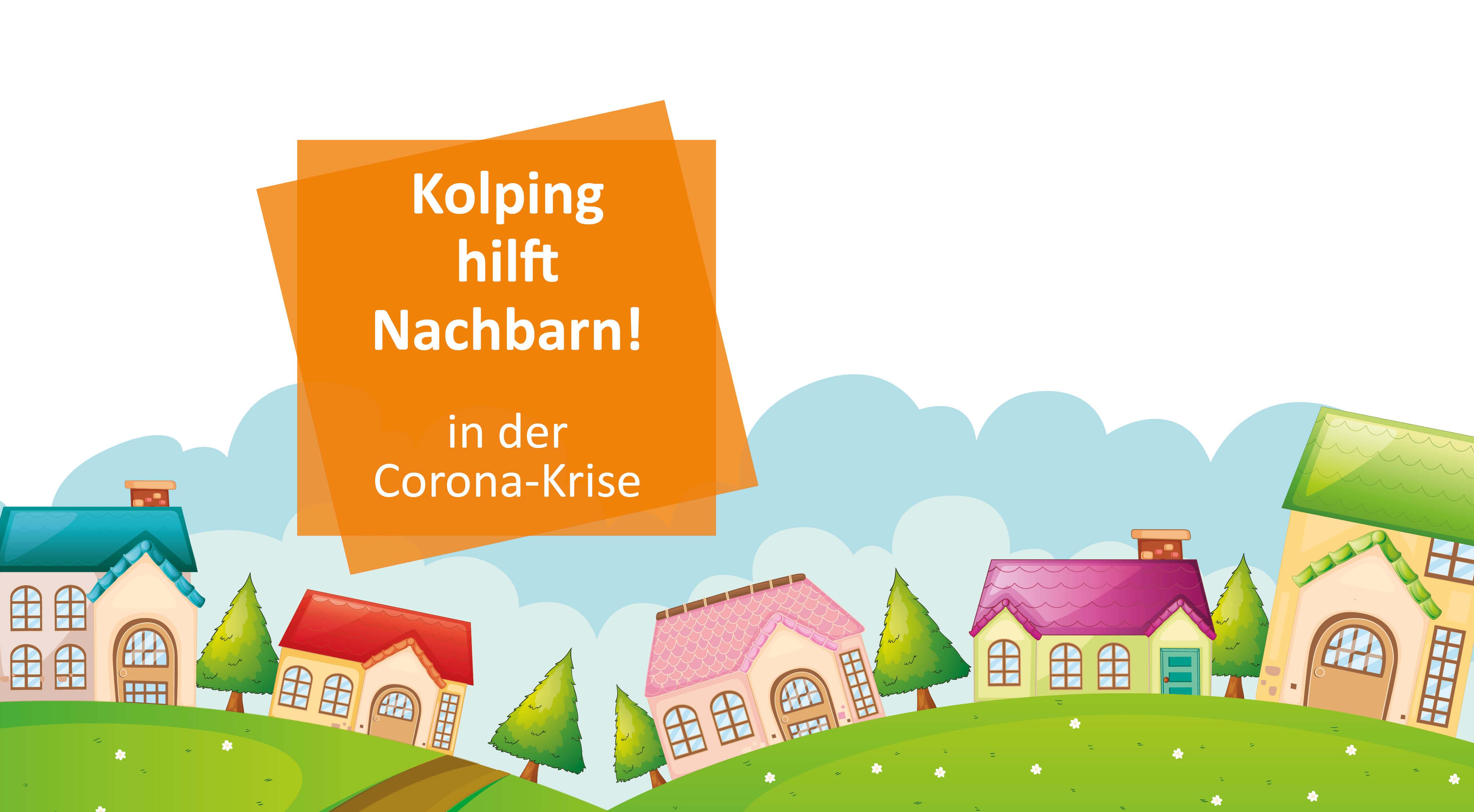 Nachbarschaftshilfe in der Corona-Krise