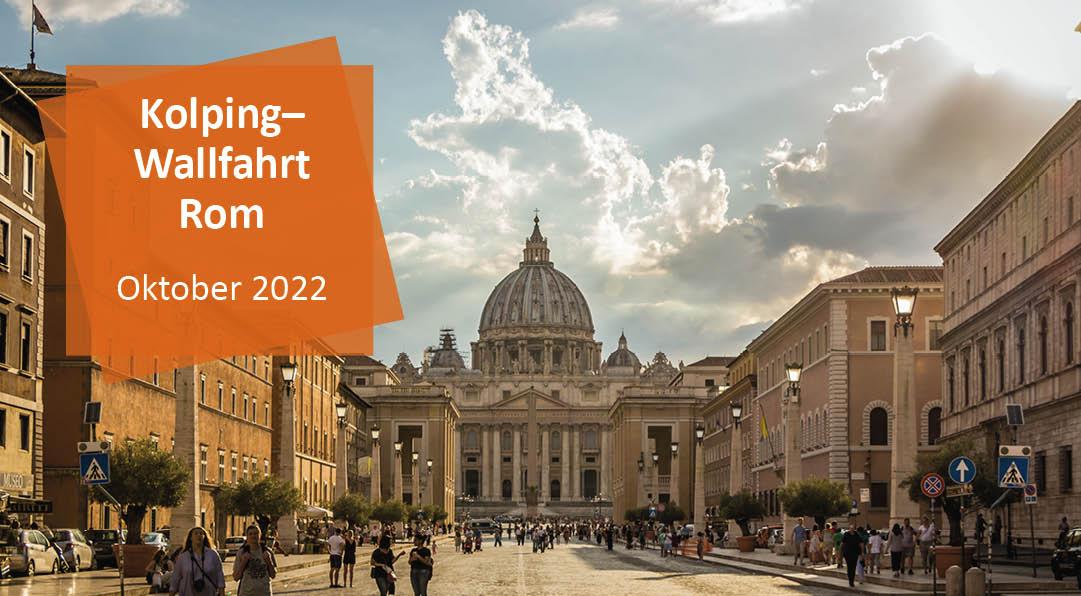Wallfahrt nach Rom | 25. bis 27. Oktober 2022