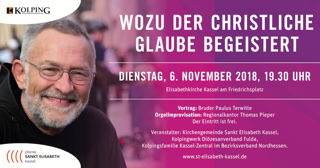 Bruder Paulus in Kassel | 6. November 2018
