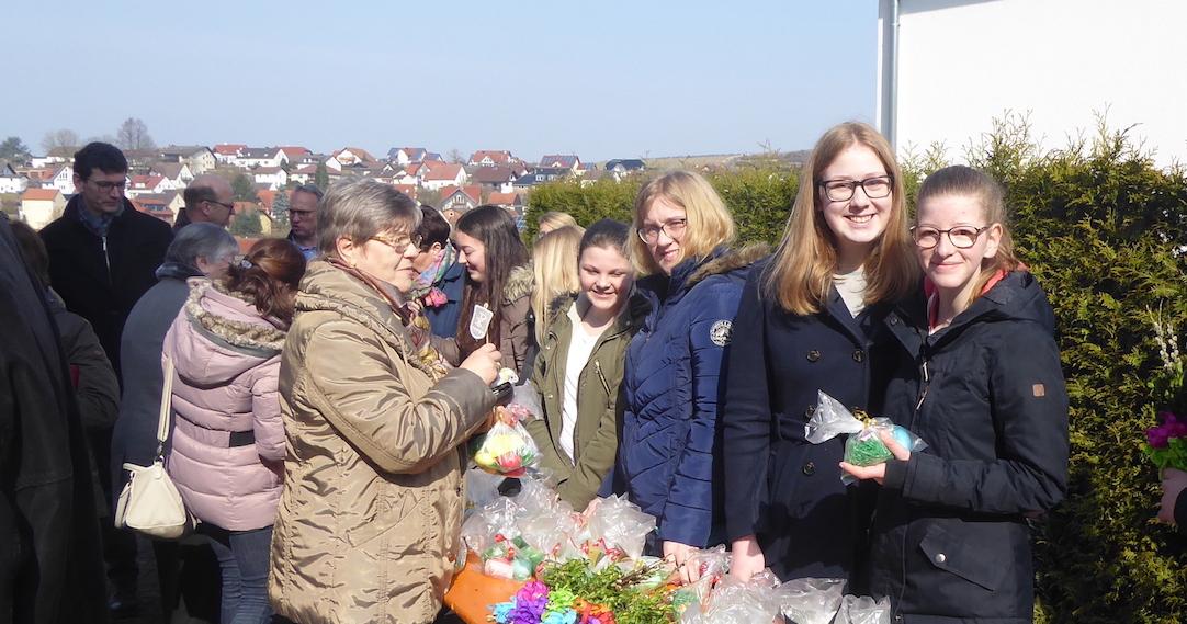 Erfolgreiche bistumsweite Durchführung der OsterAktion der Kolpingjugend - 10.000,00 € Zwischenergebnis